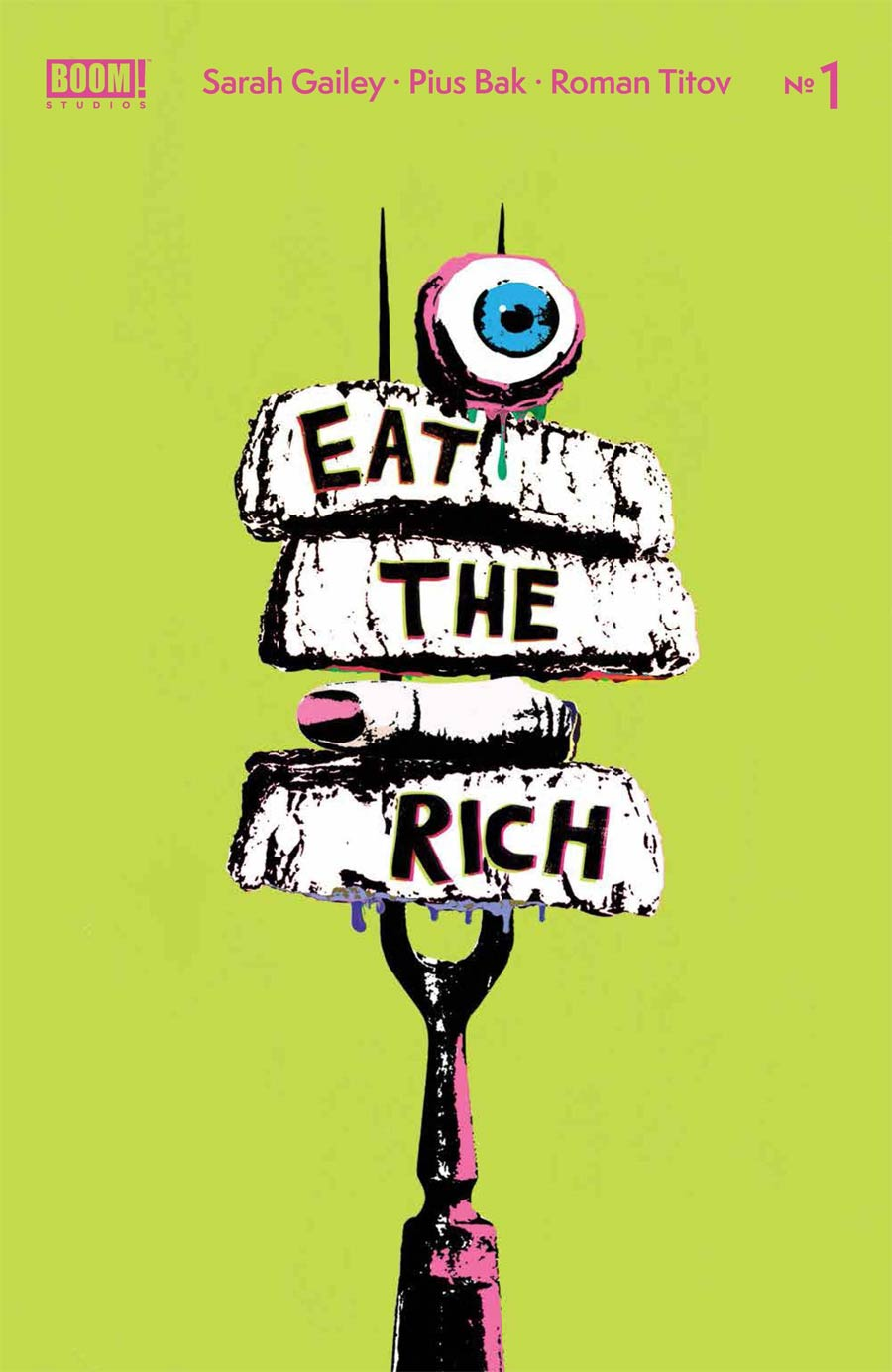 Eat The Rich #1 Cover B Variant Becca Carey Cover