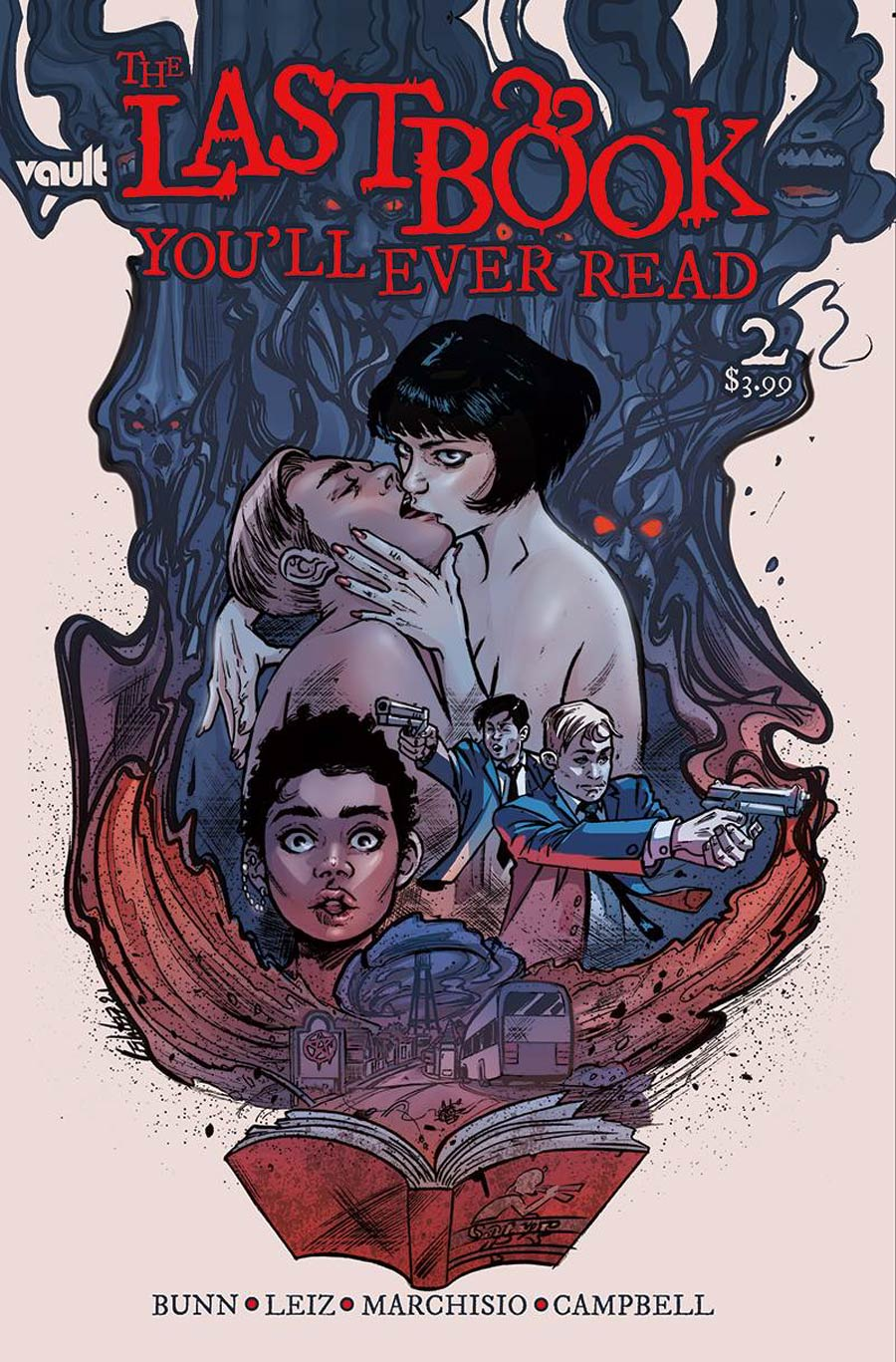 Last Book Youll Ever Read #2 Cover A Regular Leila Leiz Cover