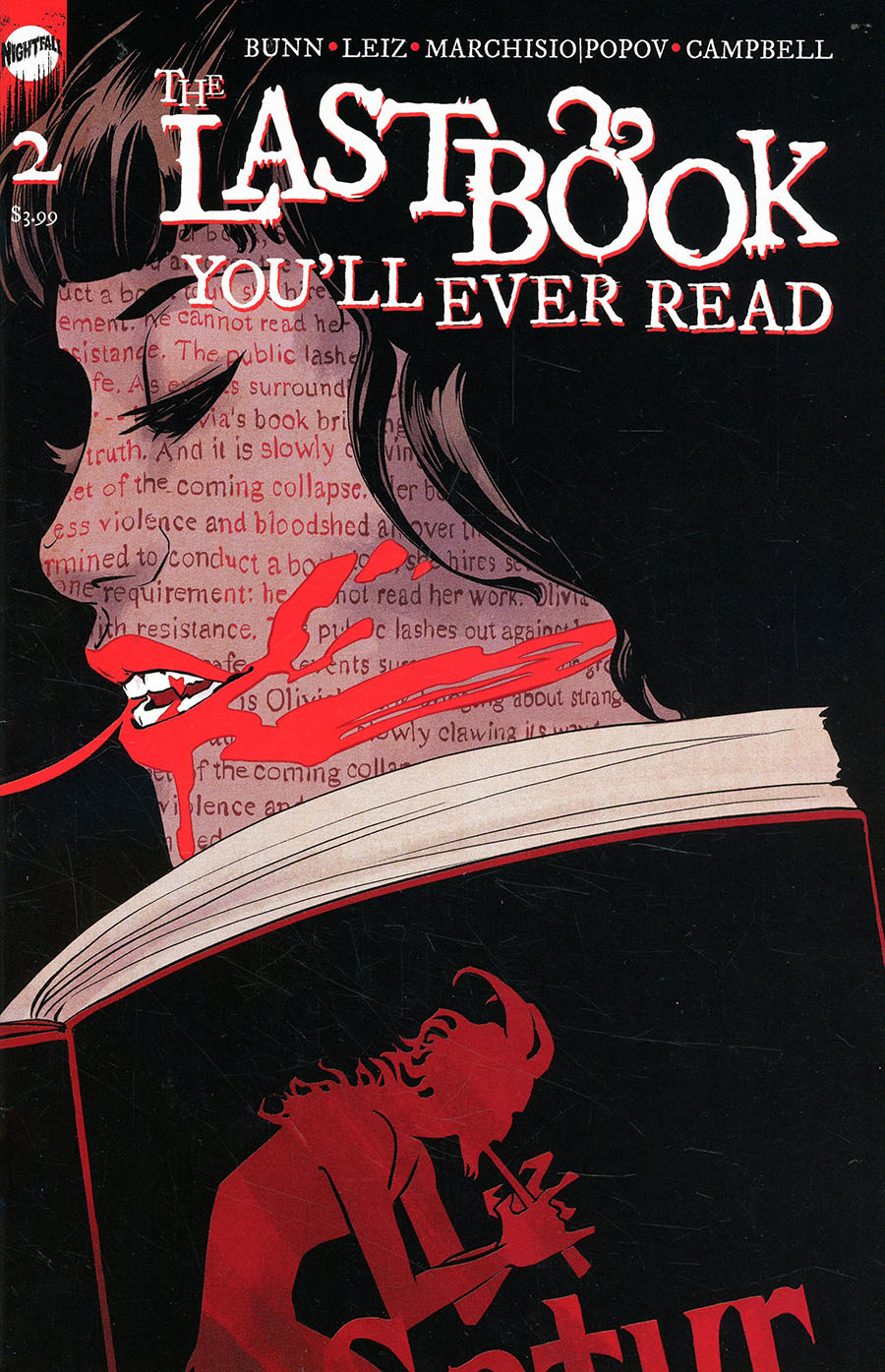 Last Book Youll Ever Read #2 Cover B Variant Jen Hickman Cover
