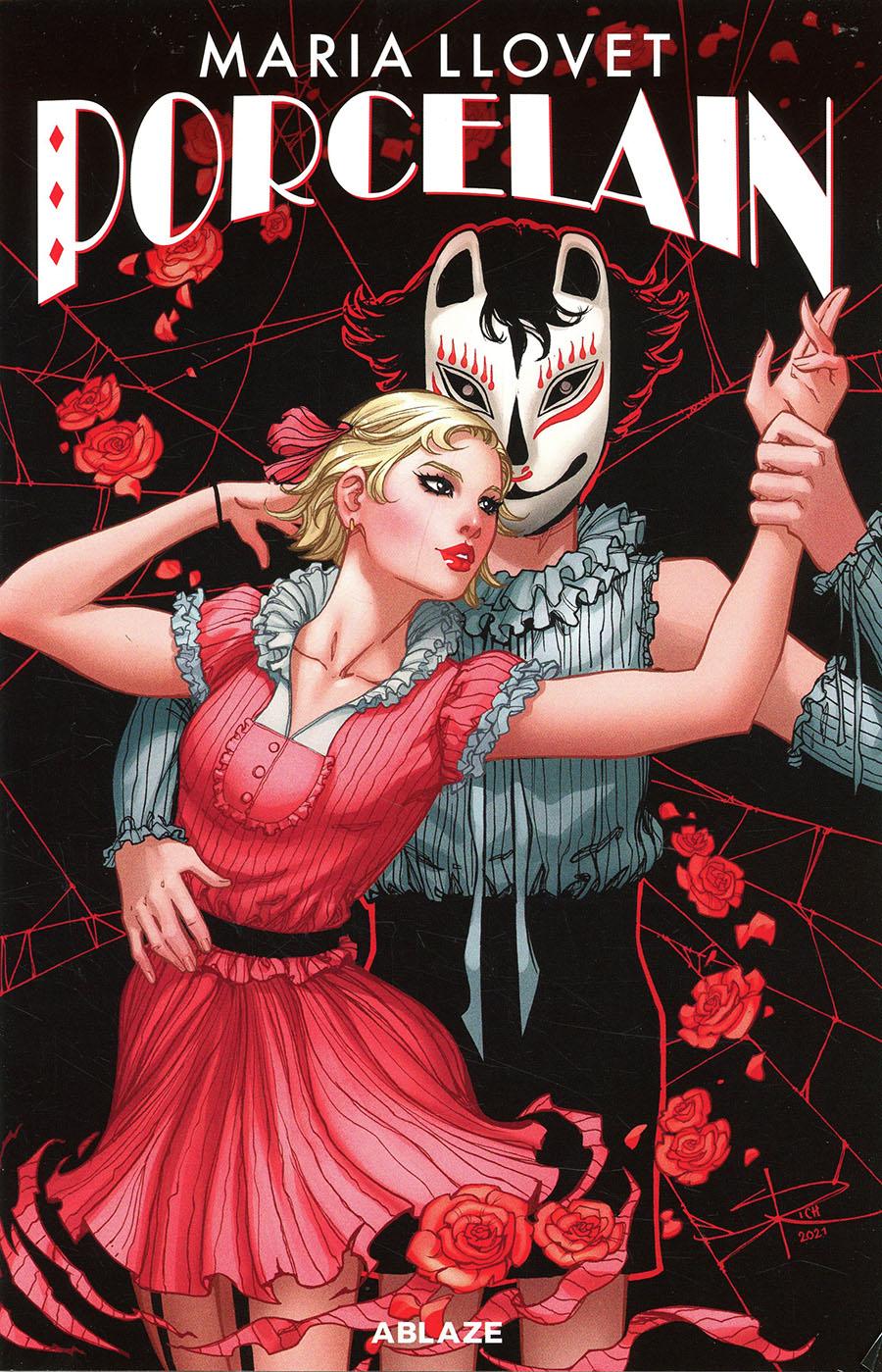 Maria Llovets Porcelain #1 Cover E Variant Sabine Rich Batman Harley Quinn Parody Cover