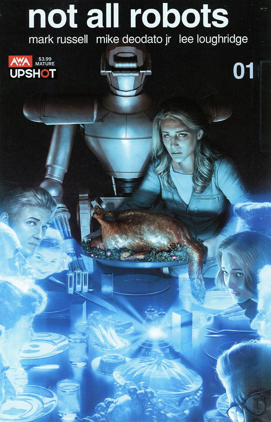 Not All Robots #1 Cover A Regular Rahzzah Cover