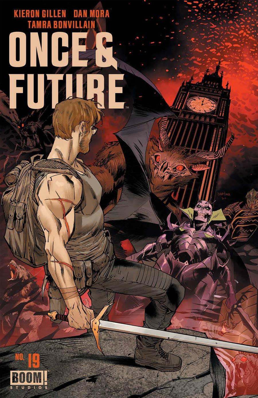 Once & Future #19 Cover A Regular Dan Mora Cover