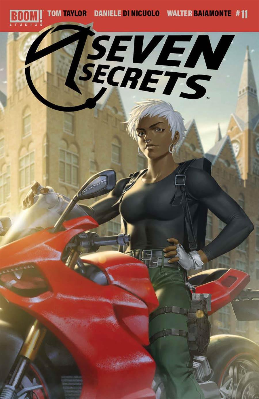 Seven Secrets #11 Cover B Variant Junggeun Yoon Cover