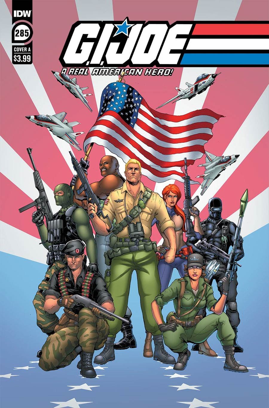 GI Joe A Real American Hero #285 Cover A Regular Andrew Griffith Cover