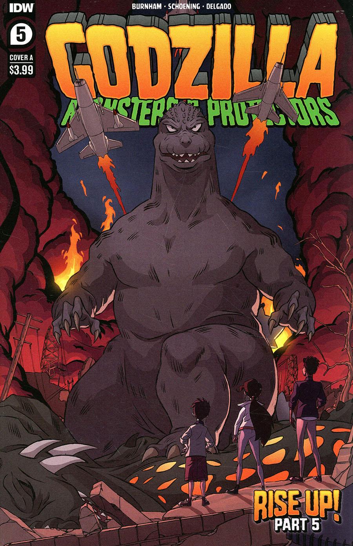 Godzilla Monsters & Protectors #5 Cover A Regular Dan Schoening Cover