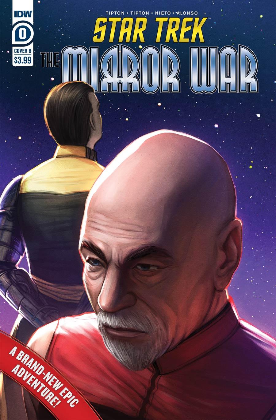 Star Trek The Mirror War #0 Cover B Variant Ejiwa Edge Ebenebe Cover
