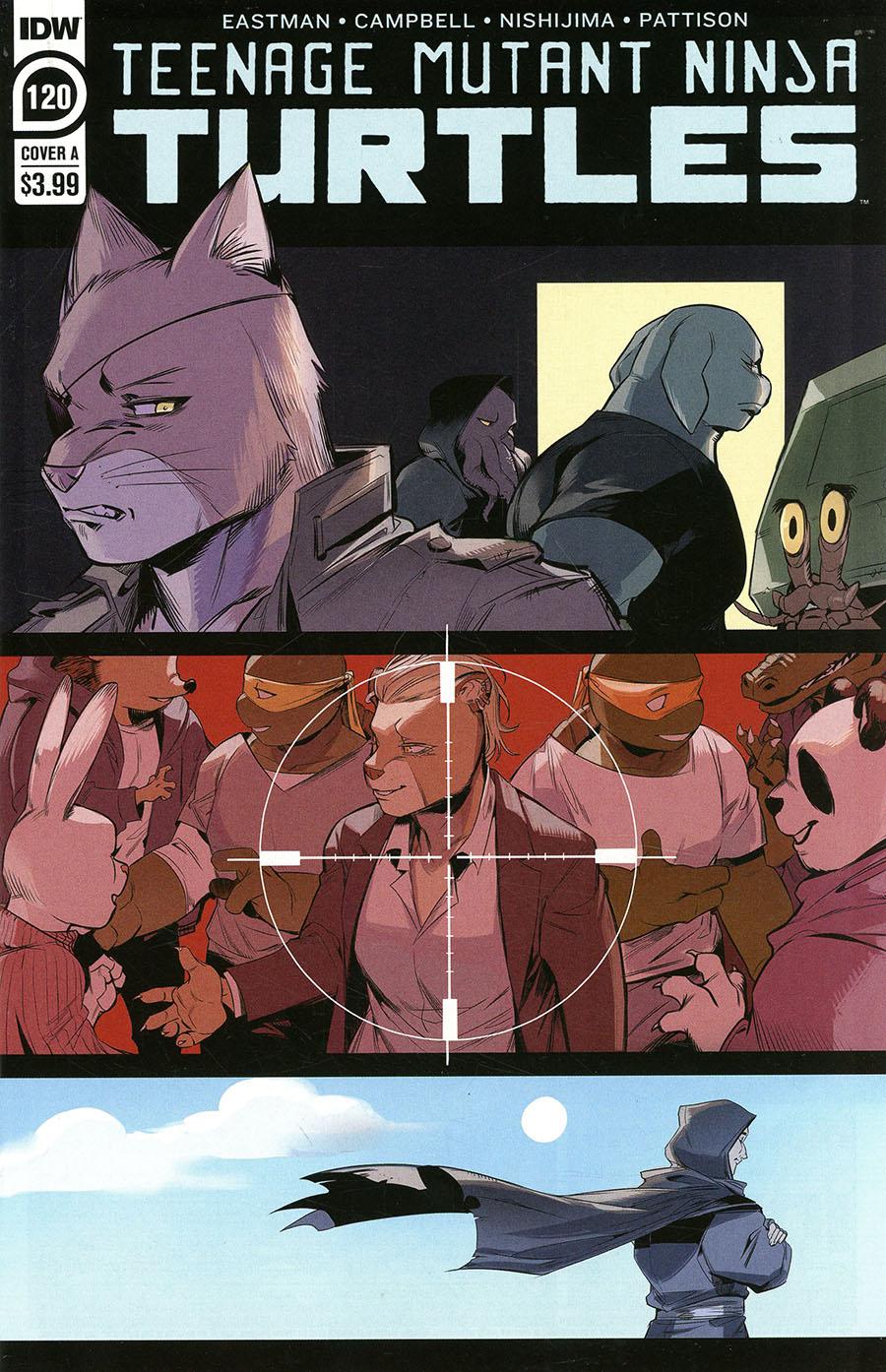 Teenage Mutant Ninja Turtles Vol 5 #120 Cover A Regular Jodi Nishijima Cover