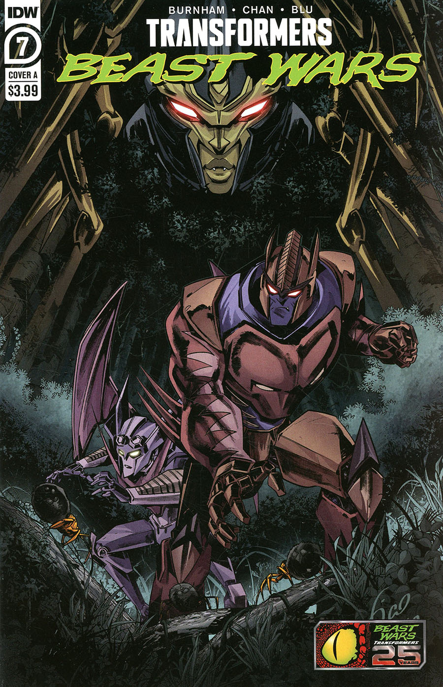 Transformers Beast Wars Vol 2 #7 Cover A Regular Fico Ossio Cover