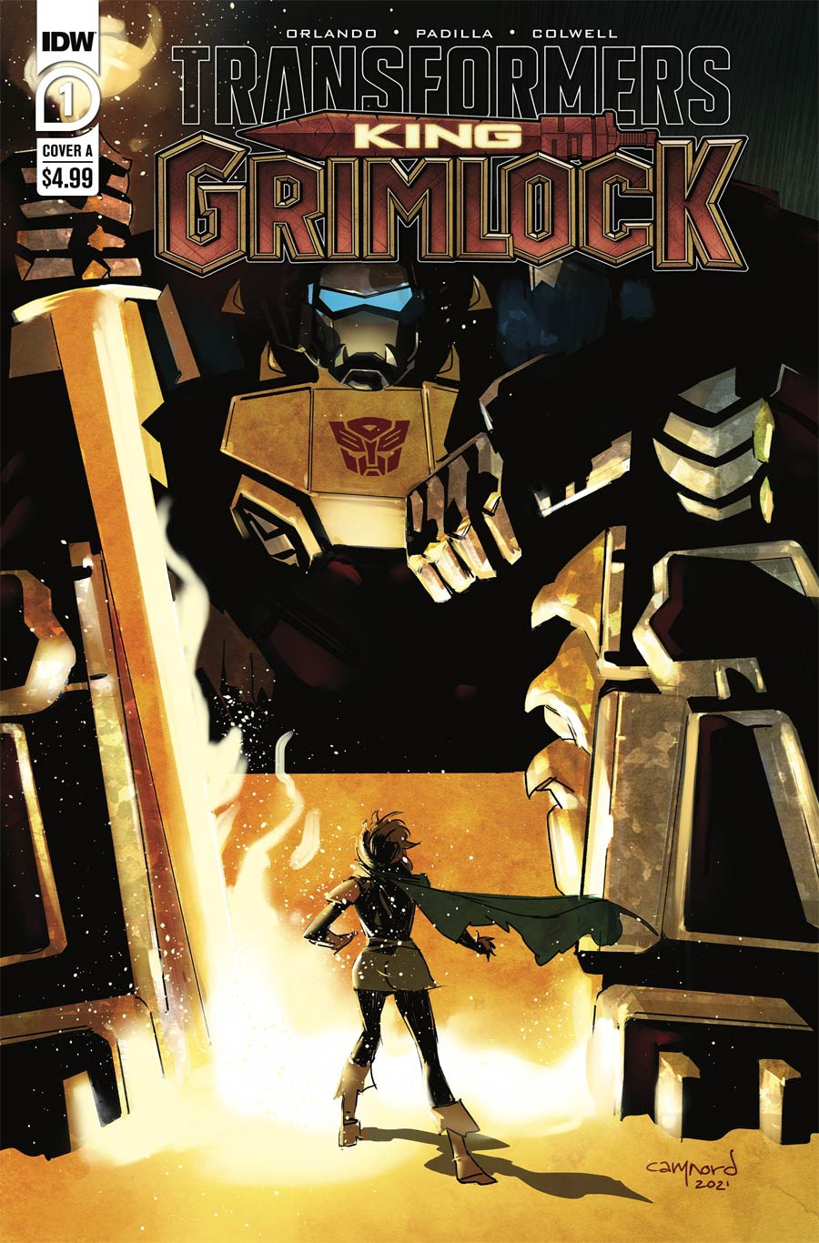 Transformers King Grimlock #1 Cover A Regular Cary Nord Cover
