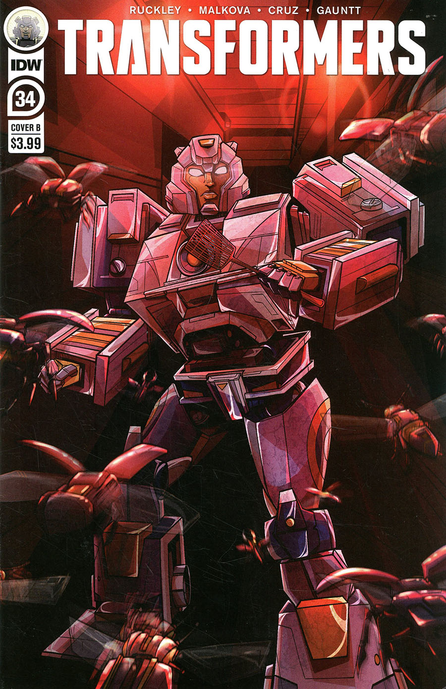 Transformers Vol 4 #34 Cover B Variant Susan Margevich Cover