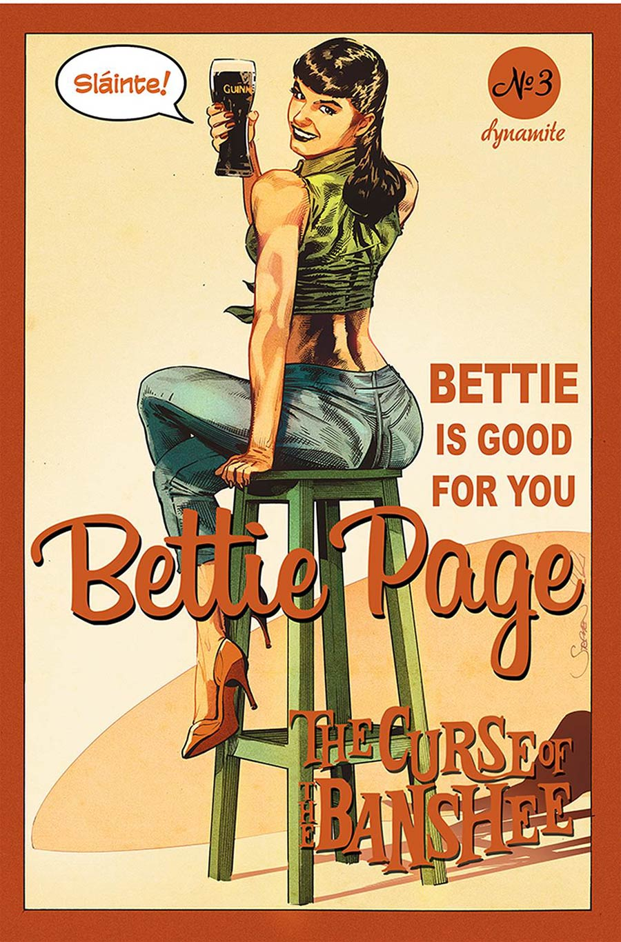 Bettie Page And The Curse Of The Banshee #3 Cover C Variant Stephen Mooney Cover