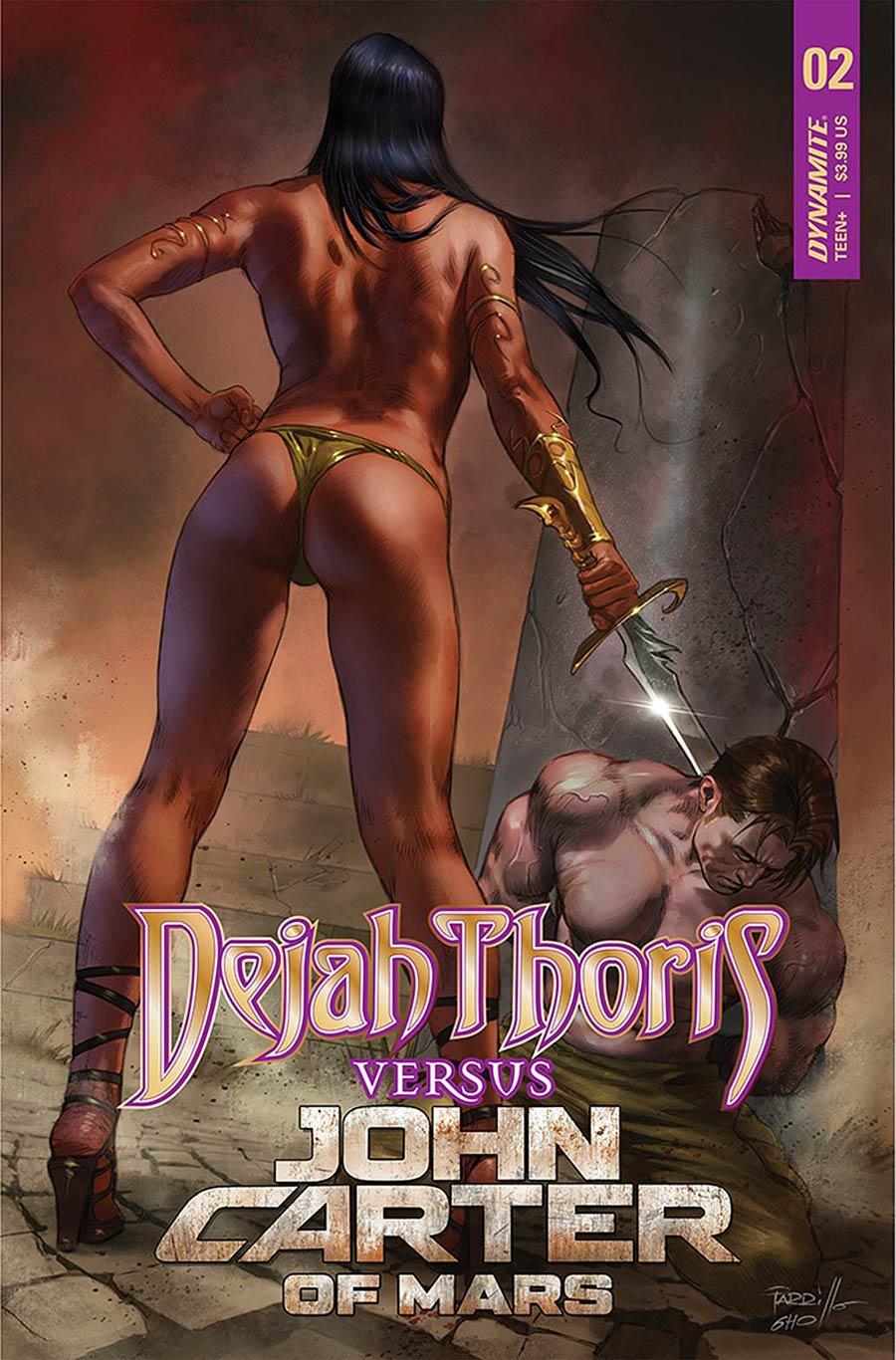 Dejah Thoris Versus John Carter Of Mars #2 Cover A Regular Lucio Parrillo Cover