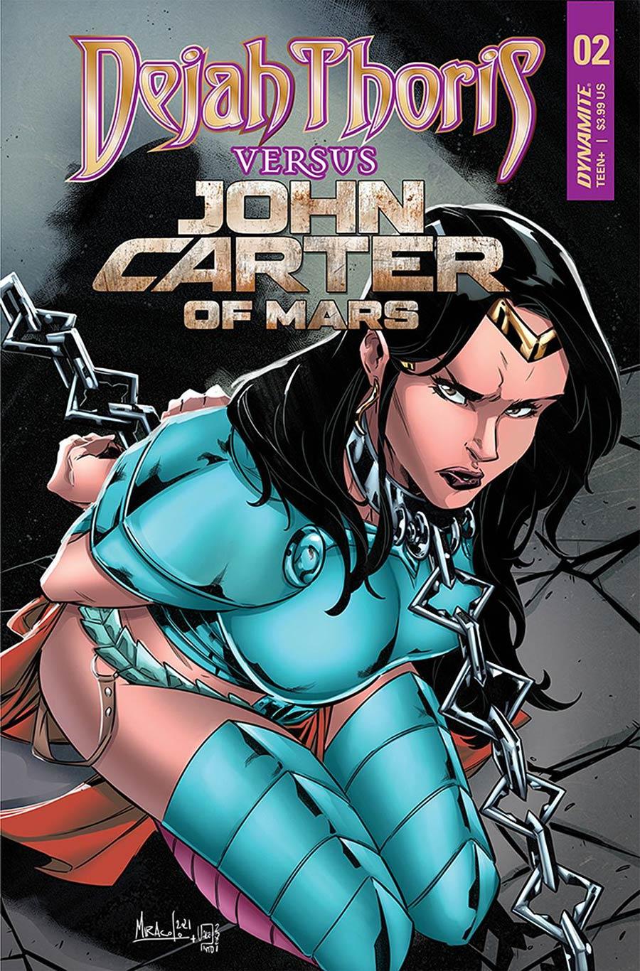Dejah Thoris Versus John Carter Of Mars #2 Cover C Variant Alessandro Miracolo Cover