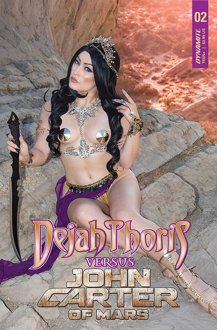 Dejah Thoris Versus John Carter Of Mars #2 Cover D Variant Rachel Hollon Cosplay Photo Cover