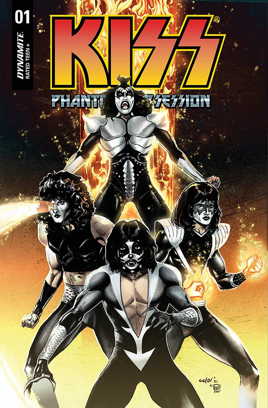 KISS Phantom Obsession #1 Cover D Variant Celor Cover