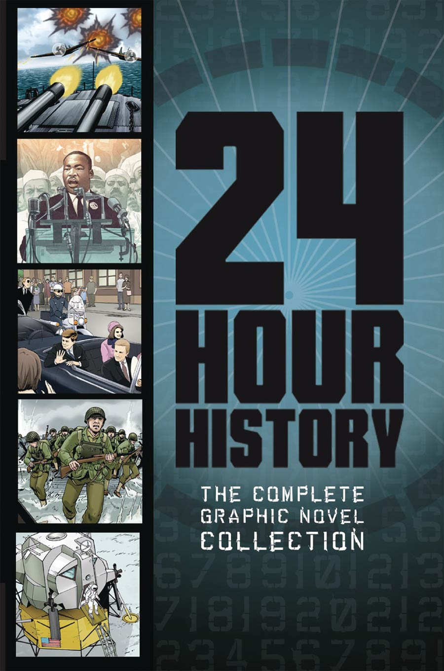 24 Hour History Complete Graphic Novel Collection TP