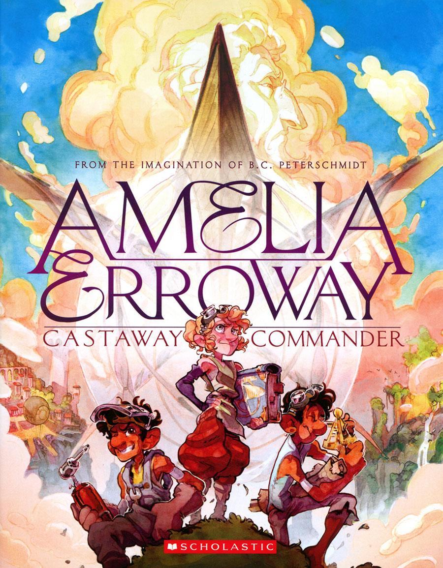 Amelia Erroway Vol 1 Castaway Commander TP