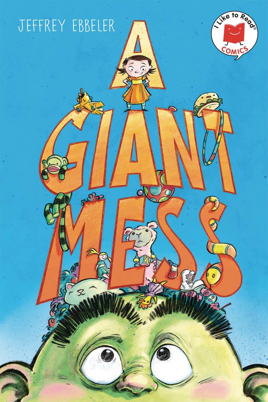I Like To Read Comics A Giant Mess TP