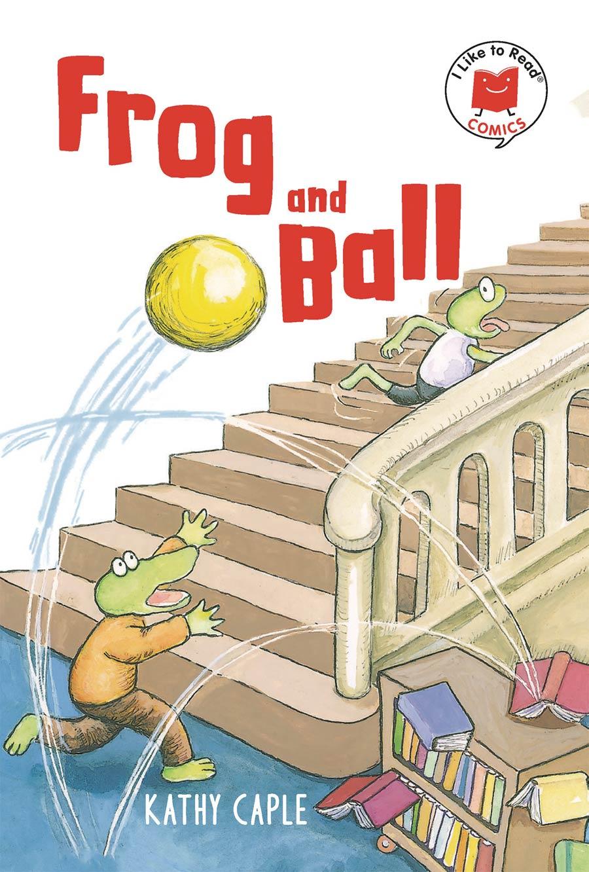 I Like To Read Comics Frog And Ball TP