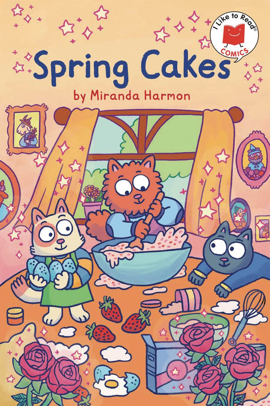 I Like To Read Comics Spring Cakes TP