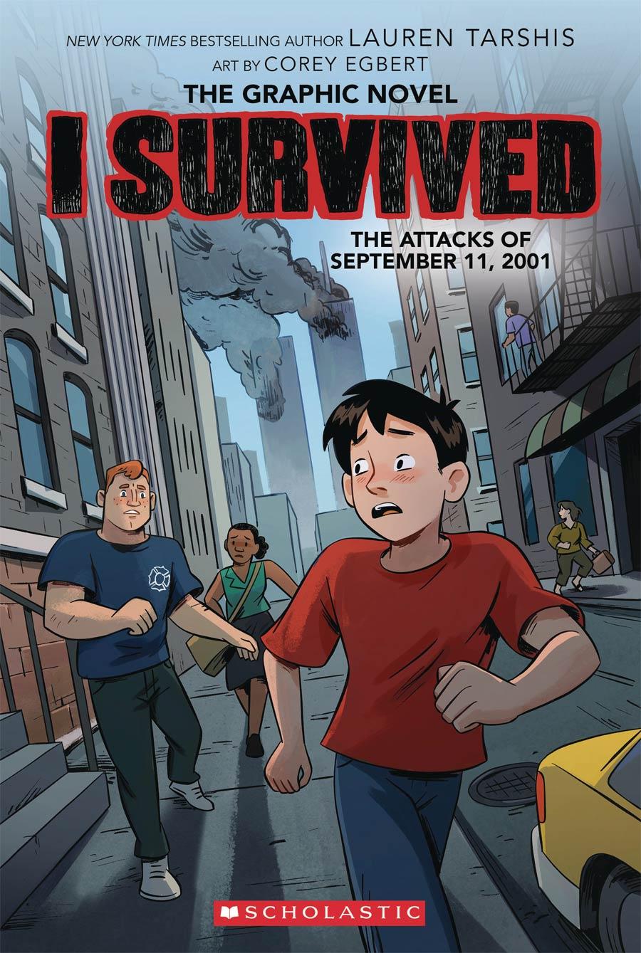 I Survived Vol 4 Attacks Of September 11 2001 TP
