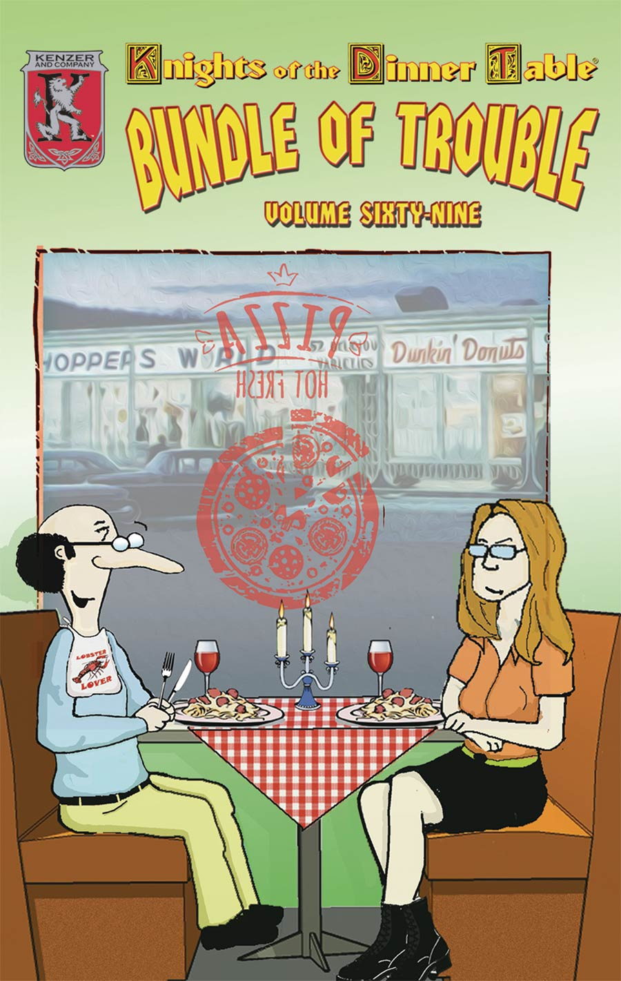 Knights Of The Dinner Table Bundle Of Trouble Vol 69 TP