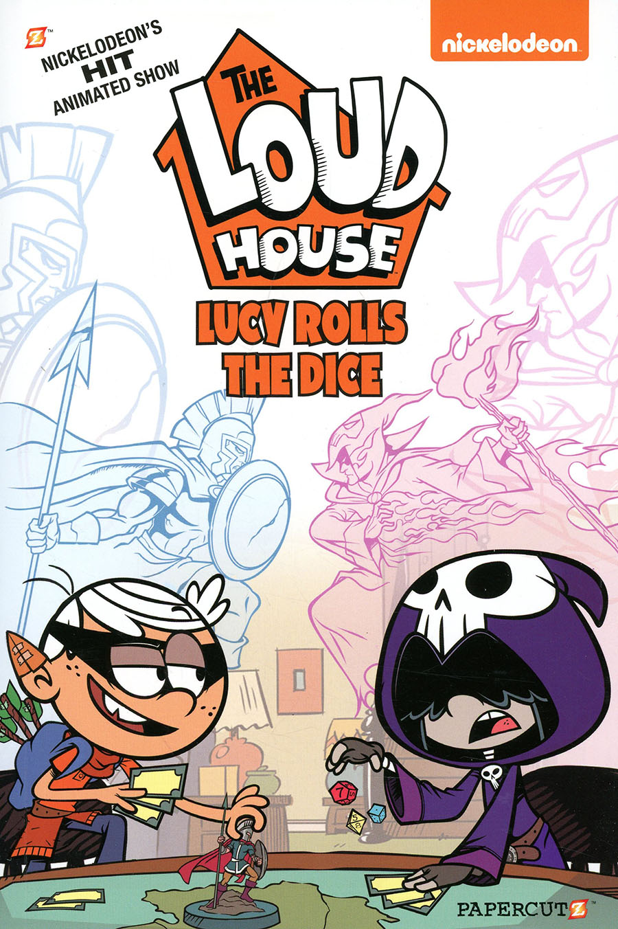 Loud House Vol 13 Lucy Rolls The Dice TP