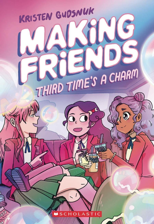 Making Friends Vol 3 Third Times A Charm TP
