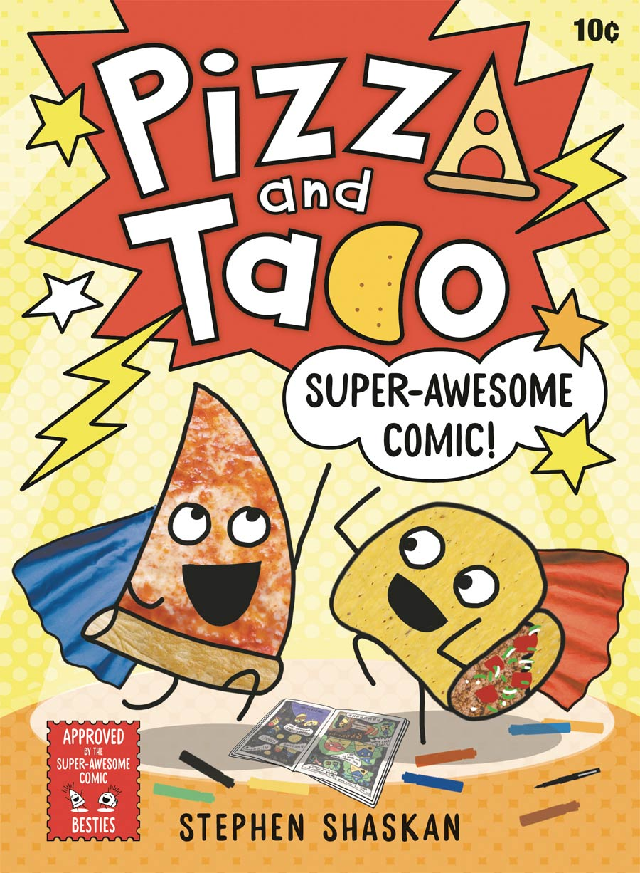 Pizza And Taco Vol 3 Super-Awesome Comic HC