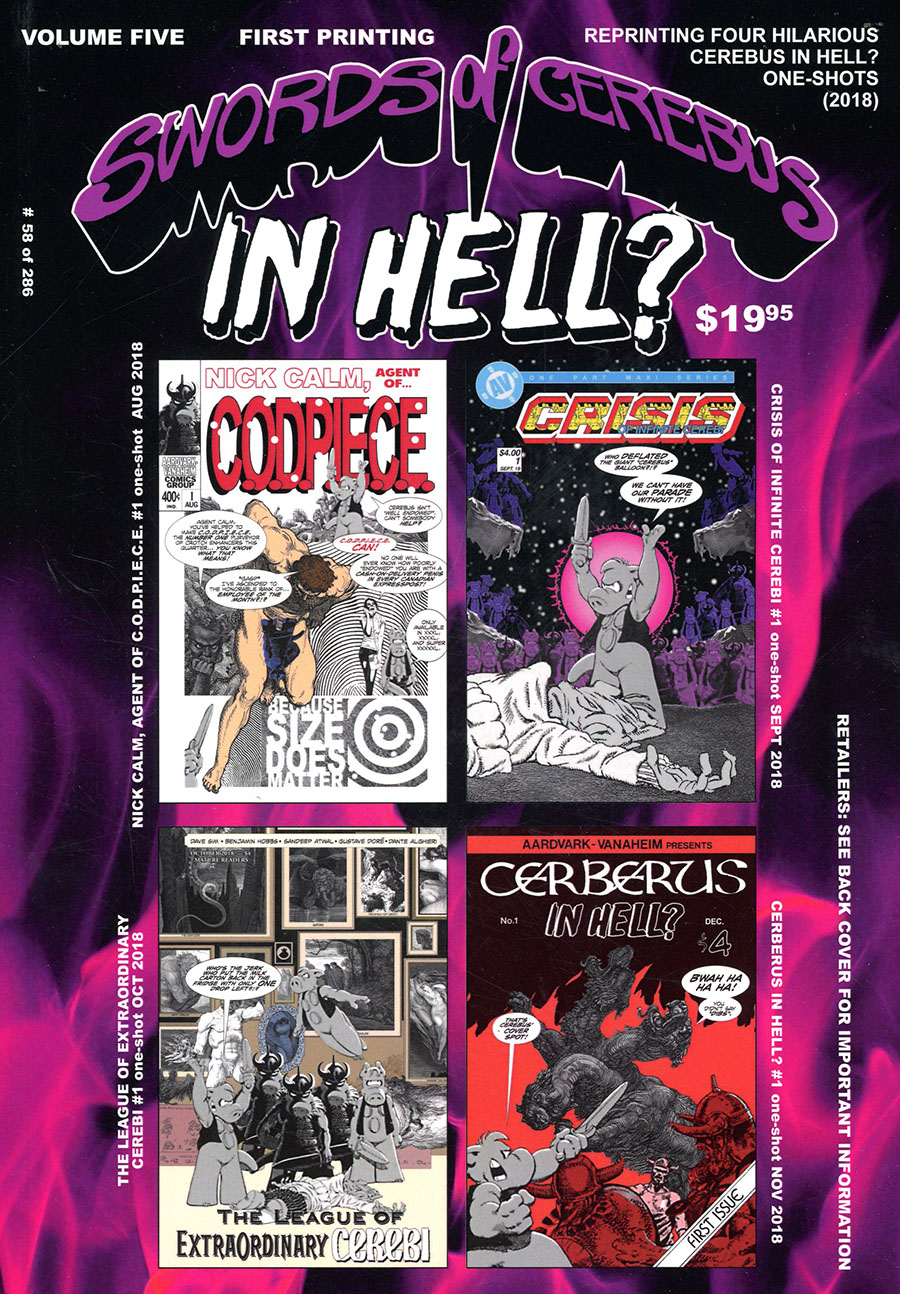 Swords Of Cerebus In Hell Vol 5 TP