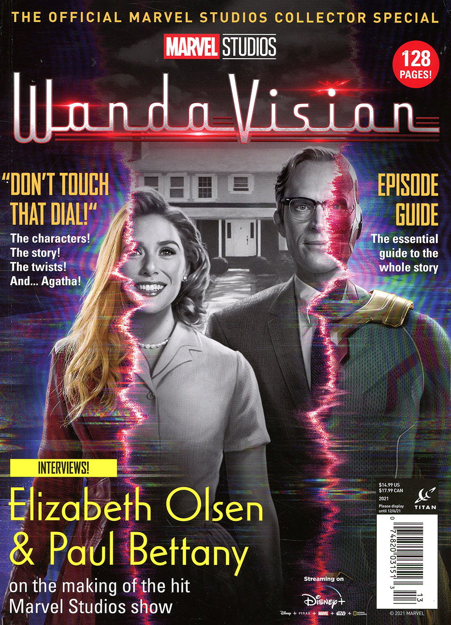 Marvel Studios WandaVision Official Marvel Studios Collectors Special Newsstand Edition