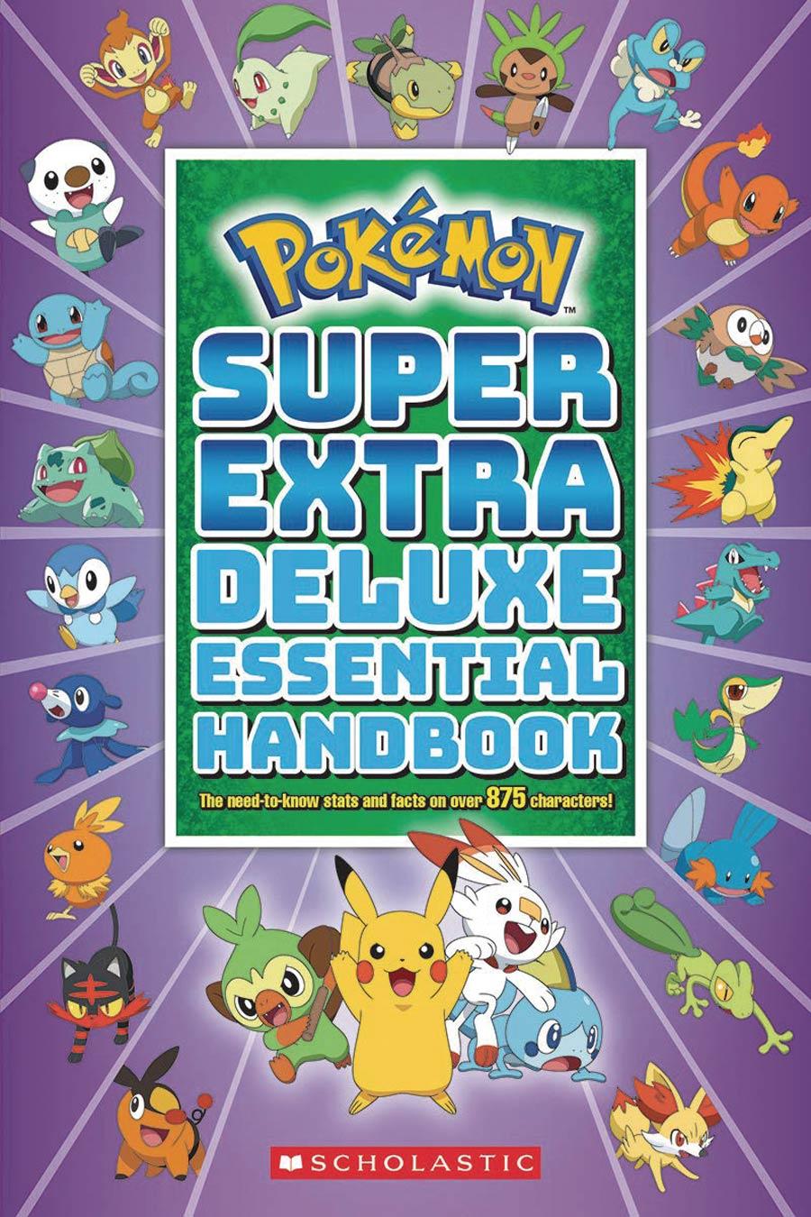 Pokemon Super Extra Deluxe Essential Handbook TP
