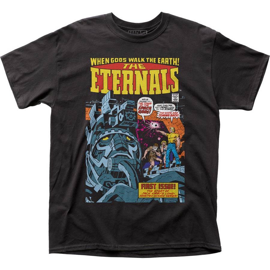 Eternals 1 Black T-Shirt Large