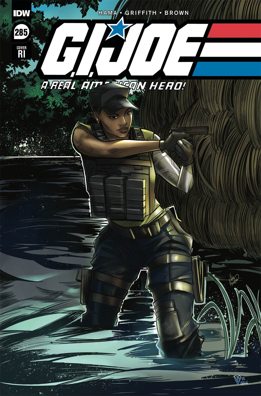 GI Joe A Real American Hero #285 Cover C Incentive Julie Anderson Variant Cover