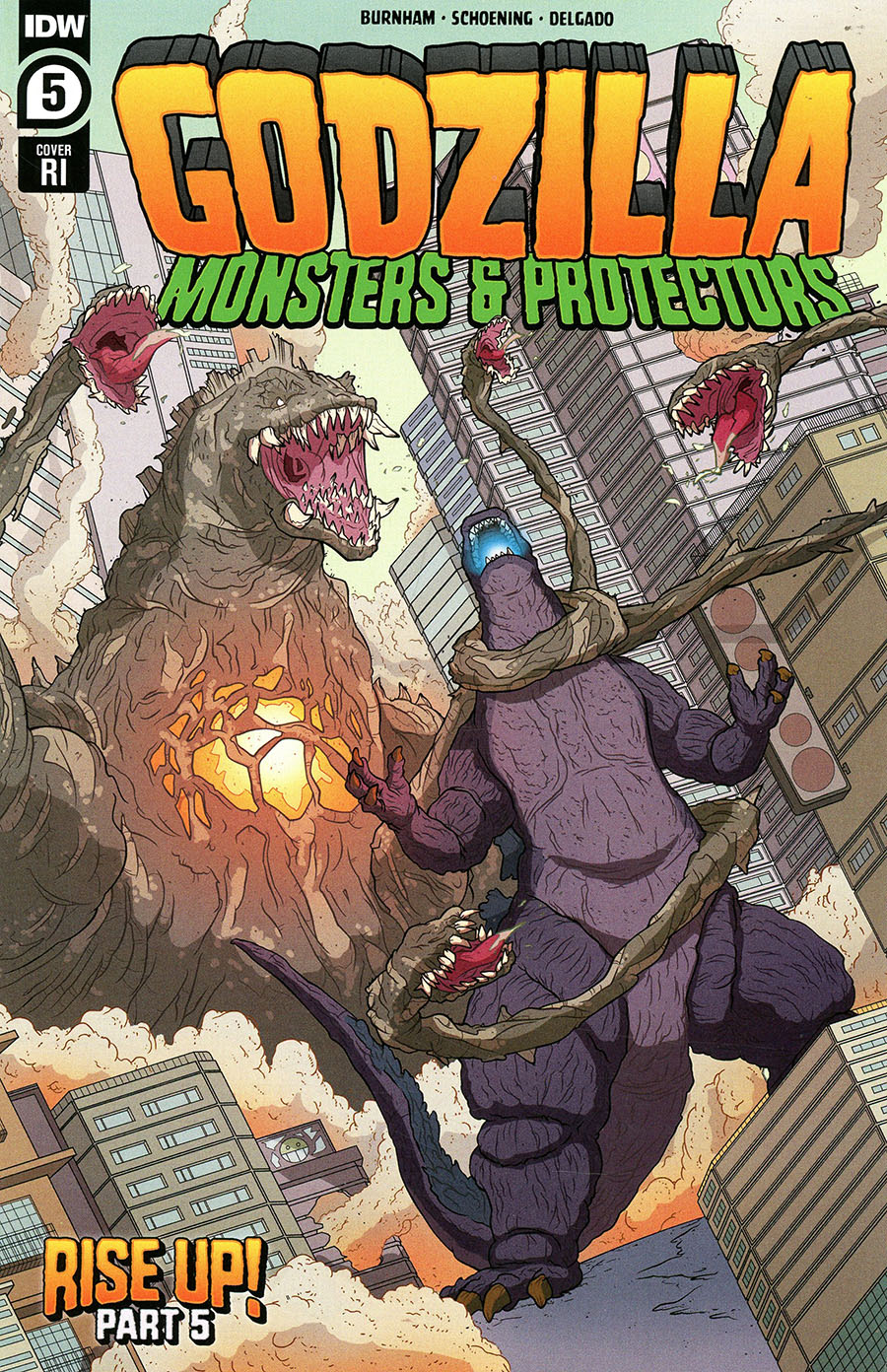 Godzilla Monsters & Protectors #5 Cover C Incentive Philip Murphy Variant Cover