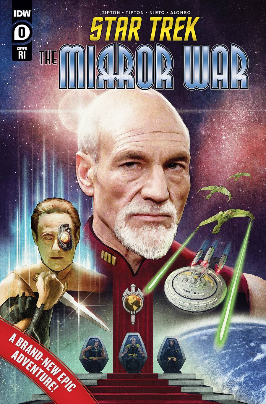 Star Trek The Mirror War #0 Cover C Incentive Tom Ralston Variant Cover