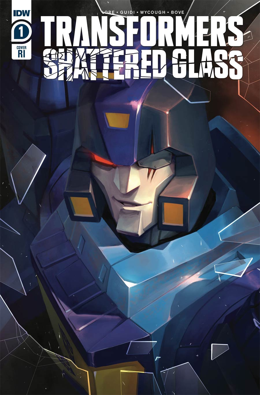 Transformers Shattered Glass #1 Cover C Incentive Sara Pitre-Durocher Variant Cover