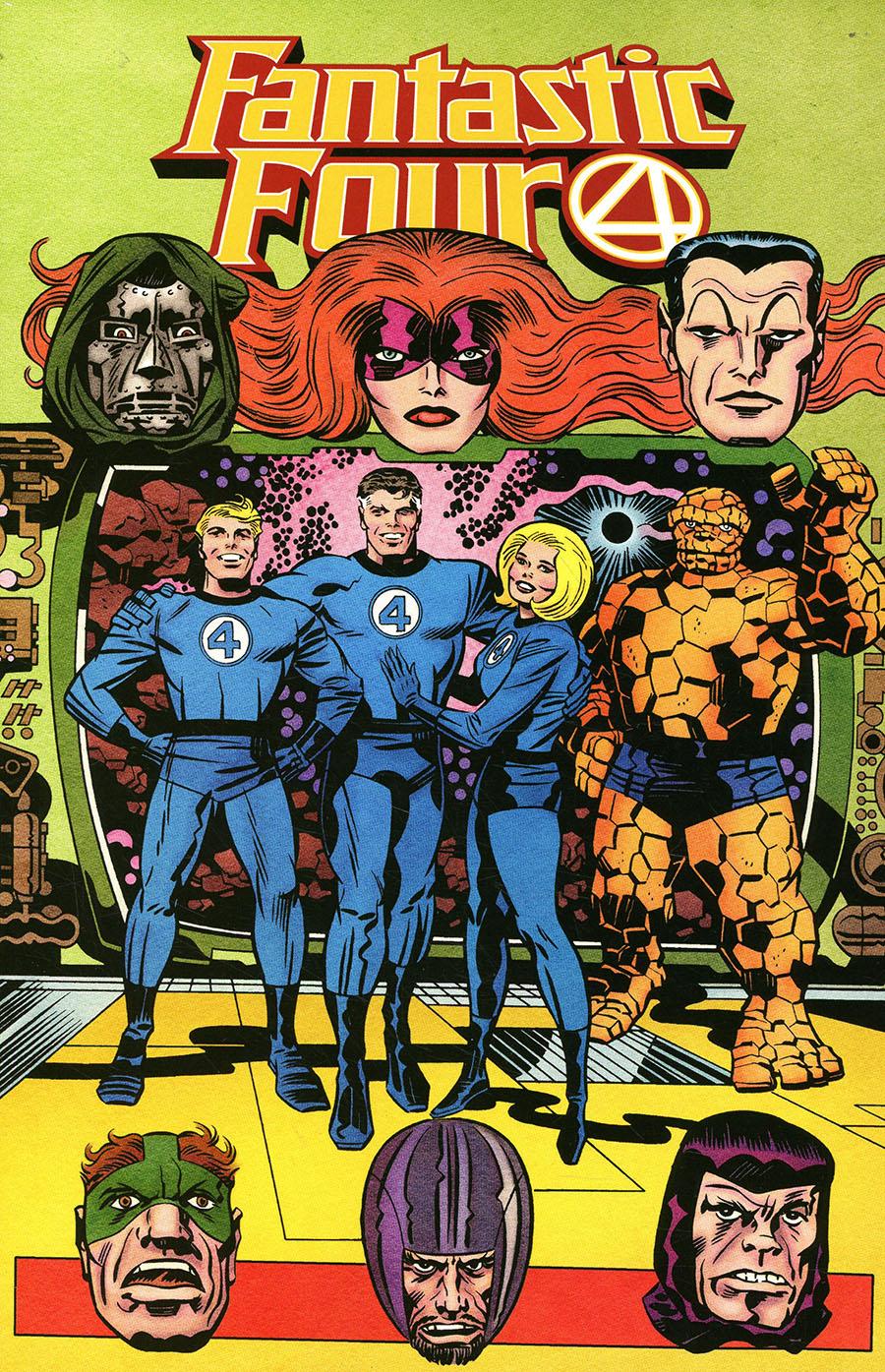 Fantastic Four Vol 6 #35 Cover G Incentive Jack Kirby Hidden Gem Variant Cover