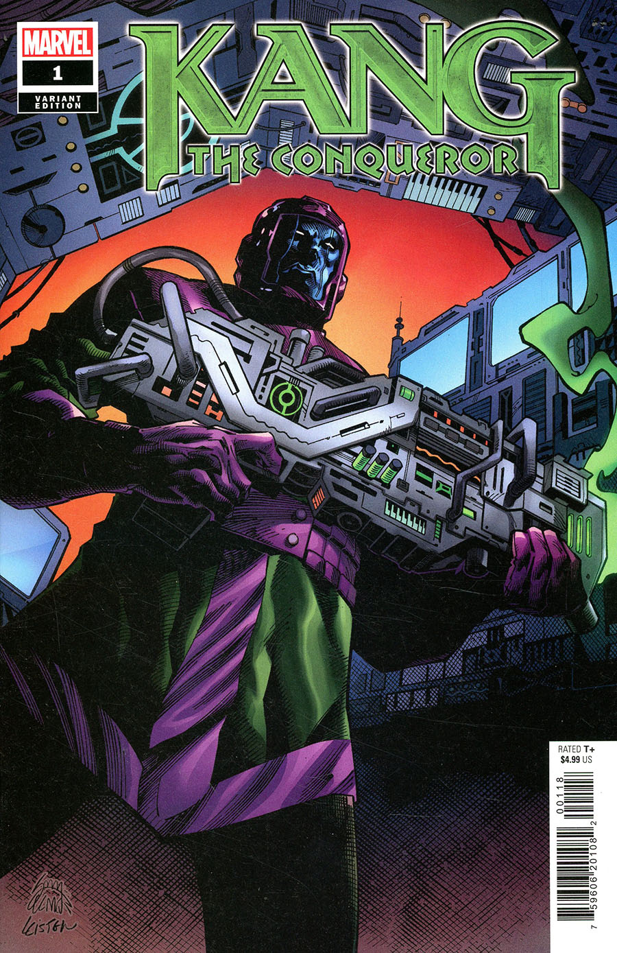 Kang The Conqueror #1 Cover L Incentive Ryan Stegman Variant Cover