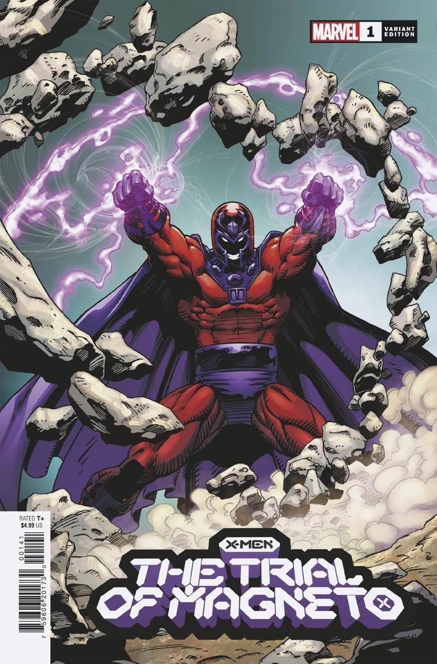X-Men Trial Of Magneto #1 Cover I Incentive Greg Capullo Hidden Gem Variant Cover