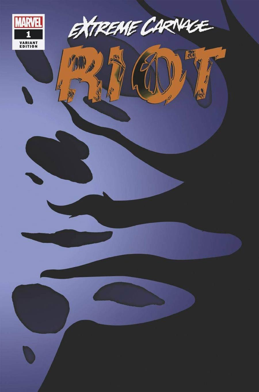 Extreme Carnage Riot #1 (One Shot) Cover E Incentive Symbiote Variant Cover