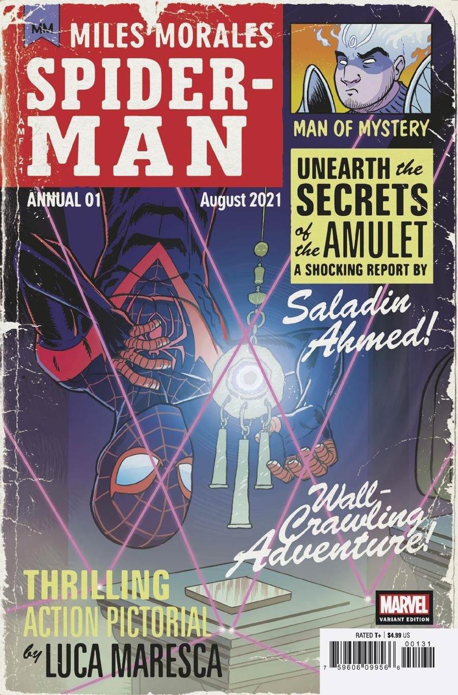 Miles Morales Spider-Man Annual #1 Cover C Incentive Tony Fleecs Variant Cover (Infinite Destinies Tie-In)
