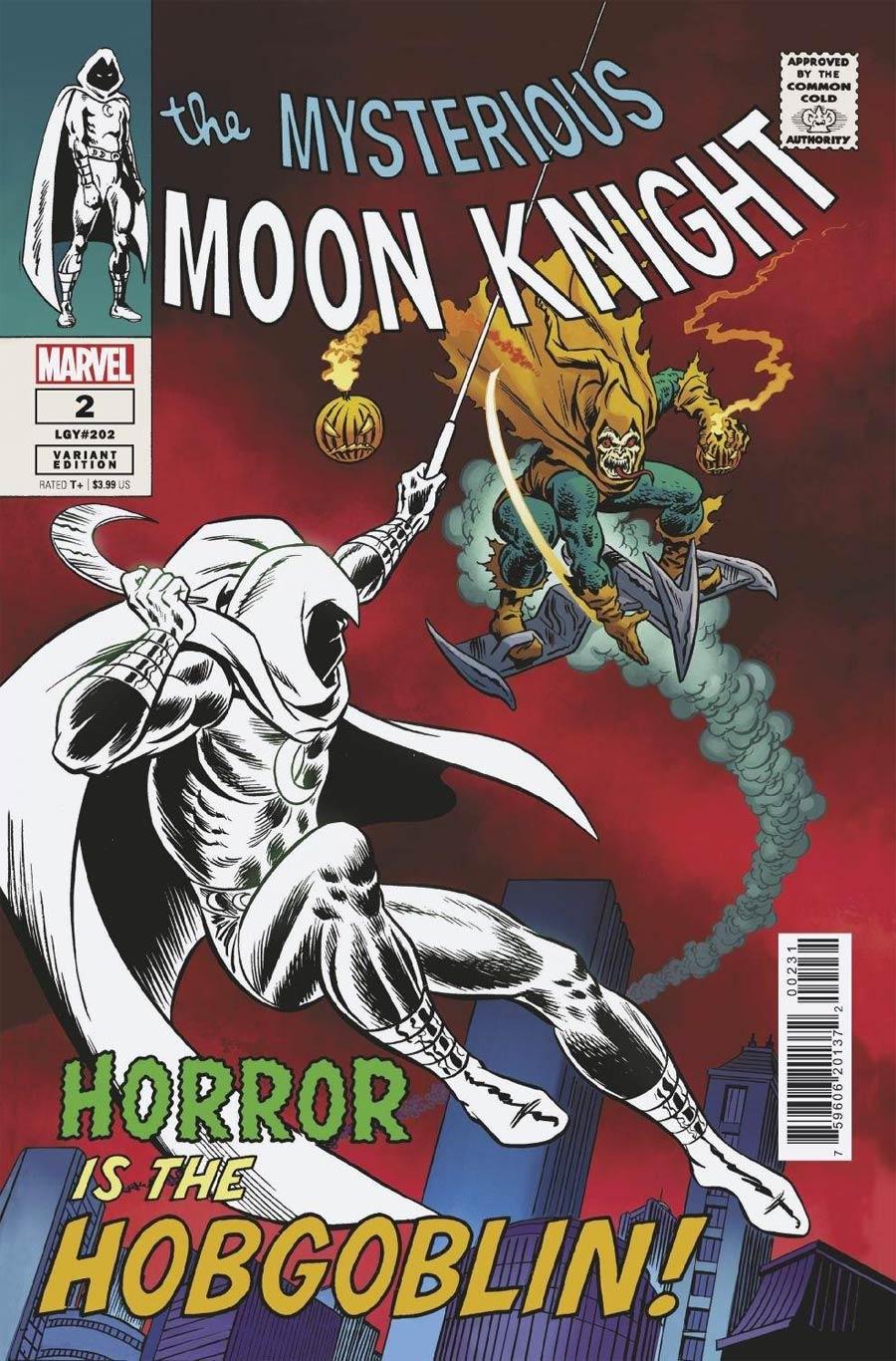 Moon Knight Vol 9 #2 Cover E Incentive John Romita Sr Hidden Gem Variant Cover