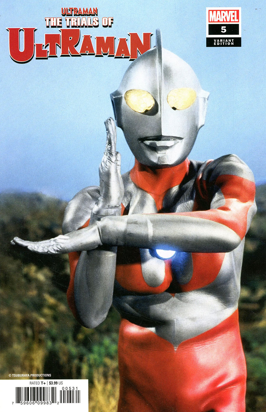 Ultraman Trials Of Ultraman #5 Cover B Incentive TV Photo Variant Cover