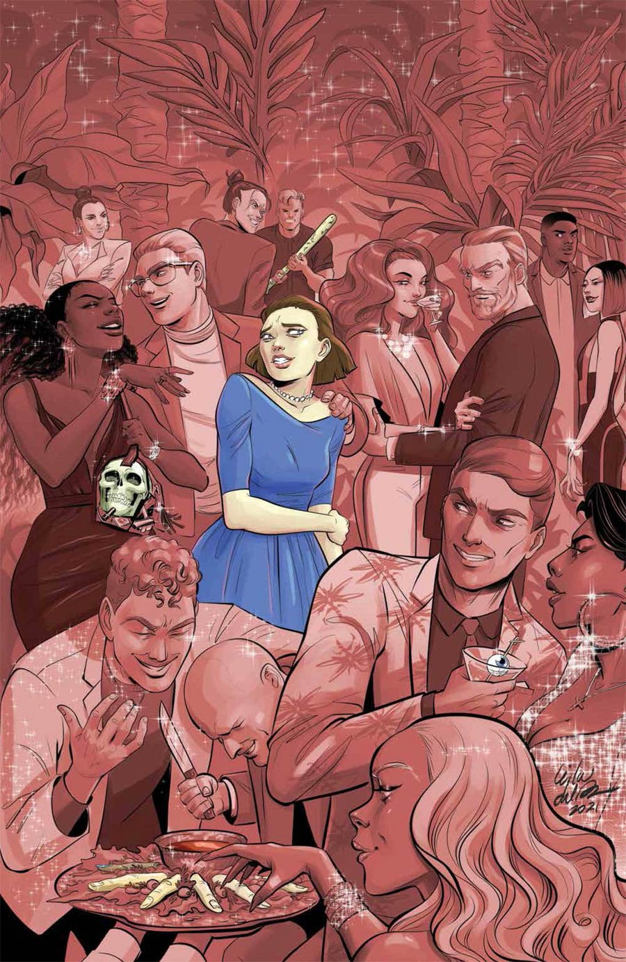Eat The Rich #1 Cover D Incentive Leila del Duca Virgin Variant Cover