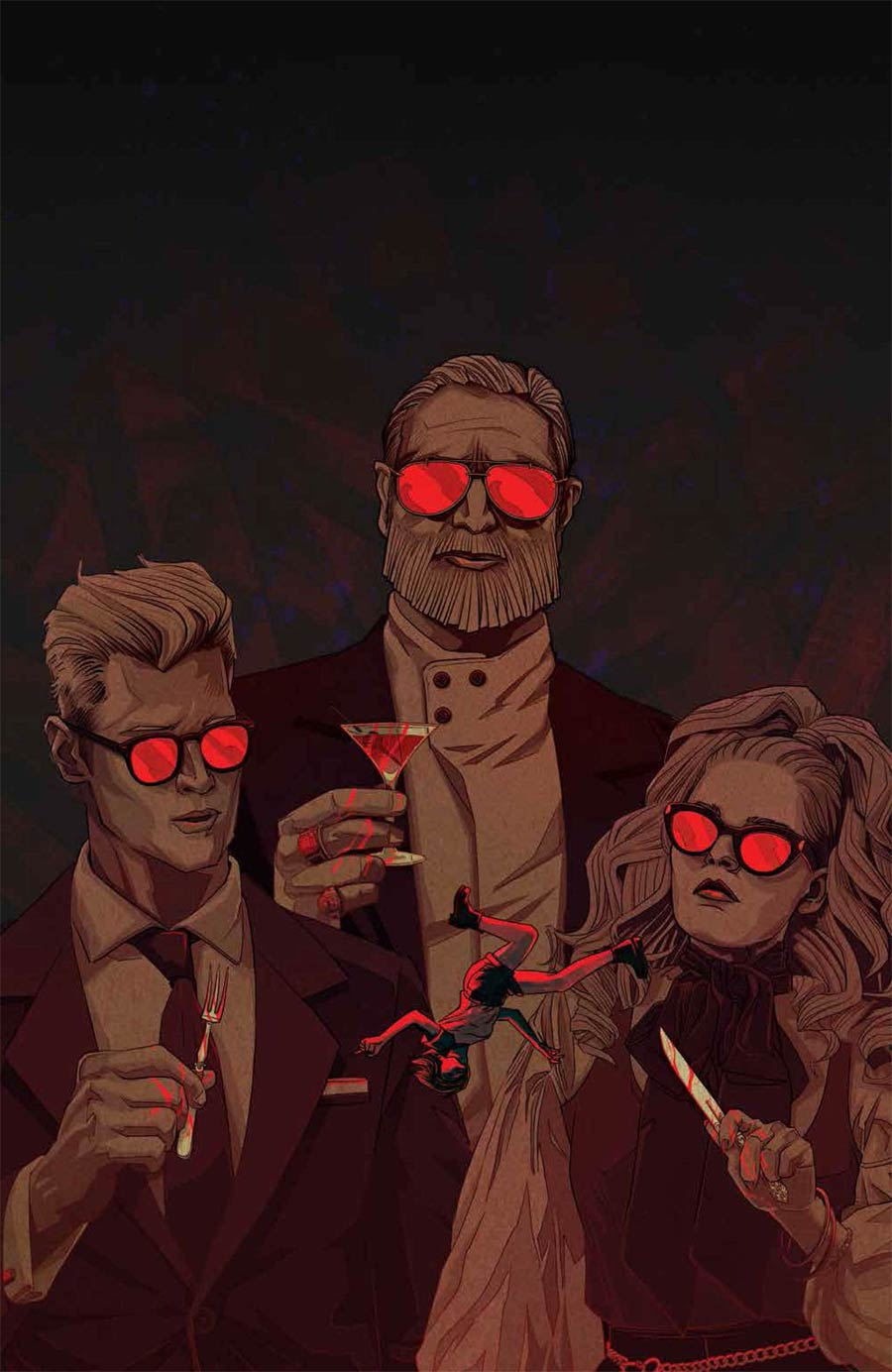 Eat The Rich #1 Cover G Incentive Kevin Tong Virgin Cover