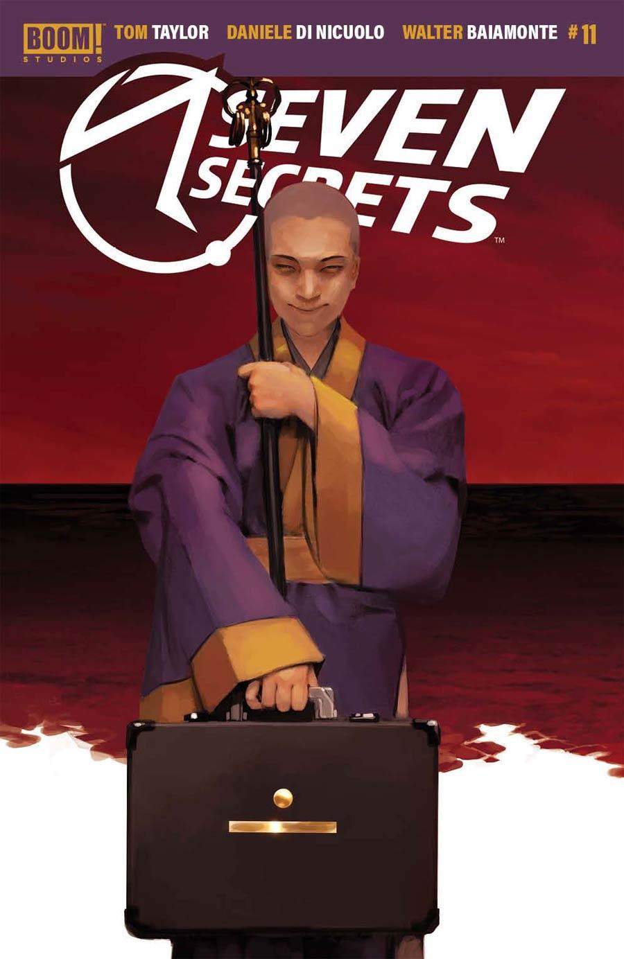 Seven Secrets #11 Cover C Incentive Miguel Mercado Connecting Variant Cover