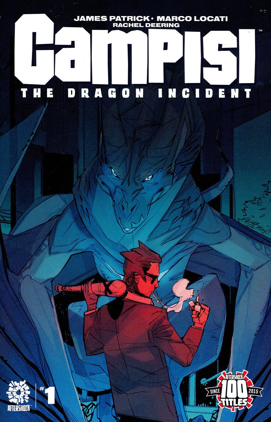 Campisi The Dragon Incident #1 Cover B Incentive Marco Locati Variant Cover