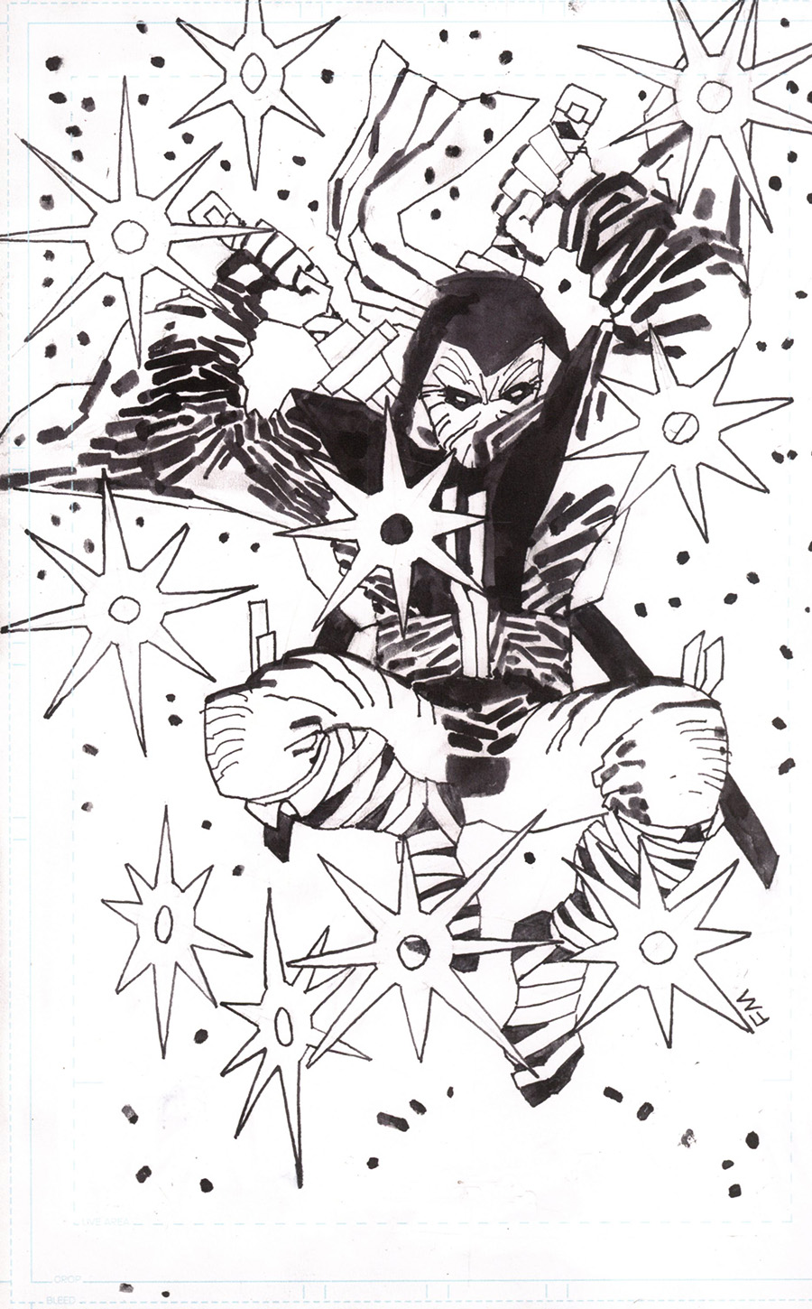 Fire Power By Kirkman & Samnee #12 Cover N Incentive Frank Miller Black & White Cover