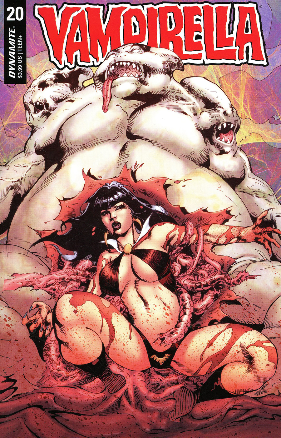 Vampirella Vol 8 #20 Cover G Variant Roberto Castro Premium Cover